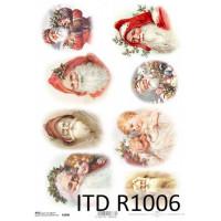Бумага рисовая ITD A4 - R1006