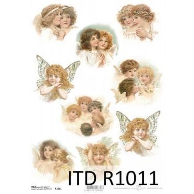 Бумага рисовая ITD A4 - R1011