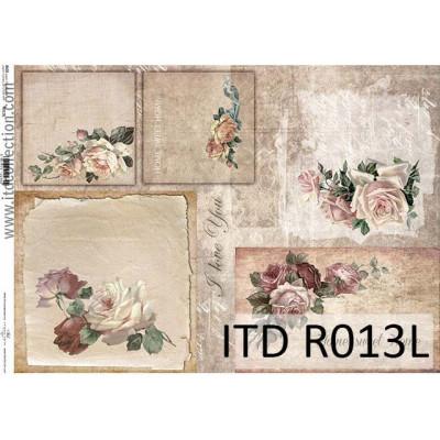 Бумага рисовая ITD A3 - R013L