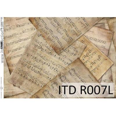 Бумага рисовая ITD A3 - R007L