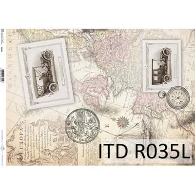 Бумага рисовая ITD A3 - R035L