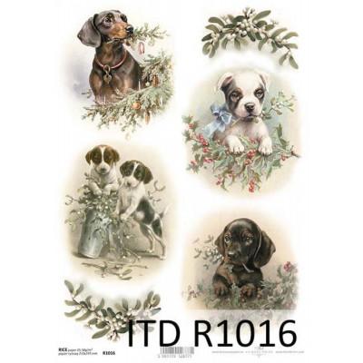 Бумага рисовая ITD A4 - R1016