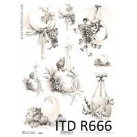 Бумага рисовая ITD A4 - R666