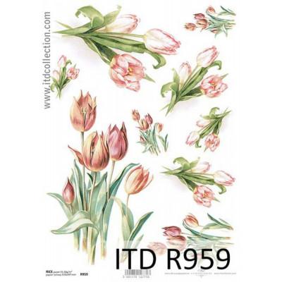 Бумага рисовая ITD A4 - R959